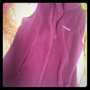 Columbia vest purple